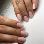 Julia Bila baby boomer czerwiec manicure hybrydowy