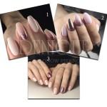 paznokcie manicure hybrydowy