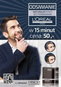 Cover- odsiwianie L`oreal